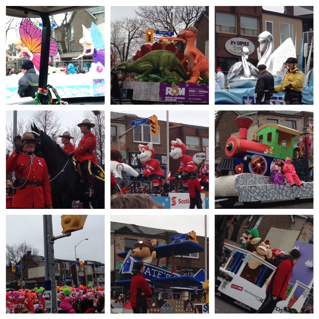 109th Toronto Santa Claus Parade..