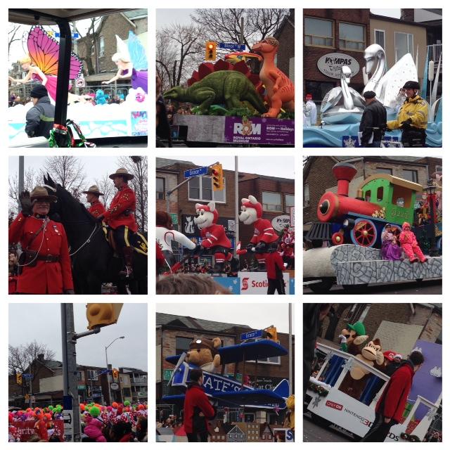 109th Toronto Santa Claus Parade..