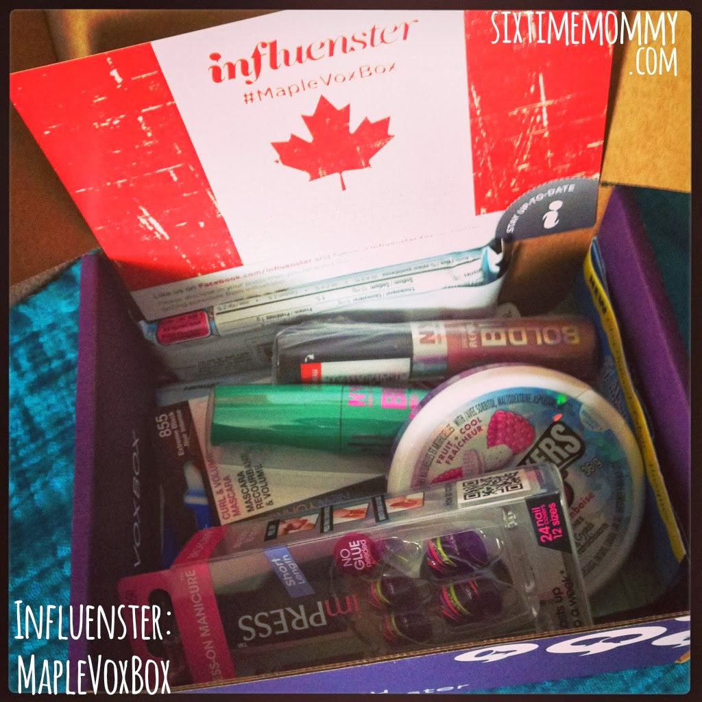 #MapleVoxBox from Influenster and Review!
