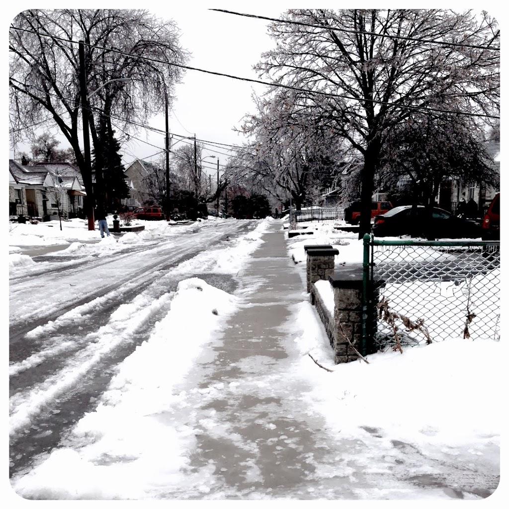 Toronto Ice Storm 2013…