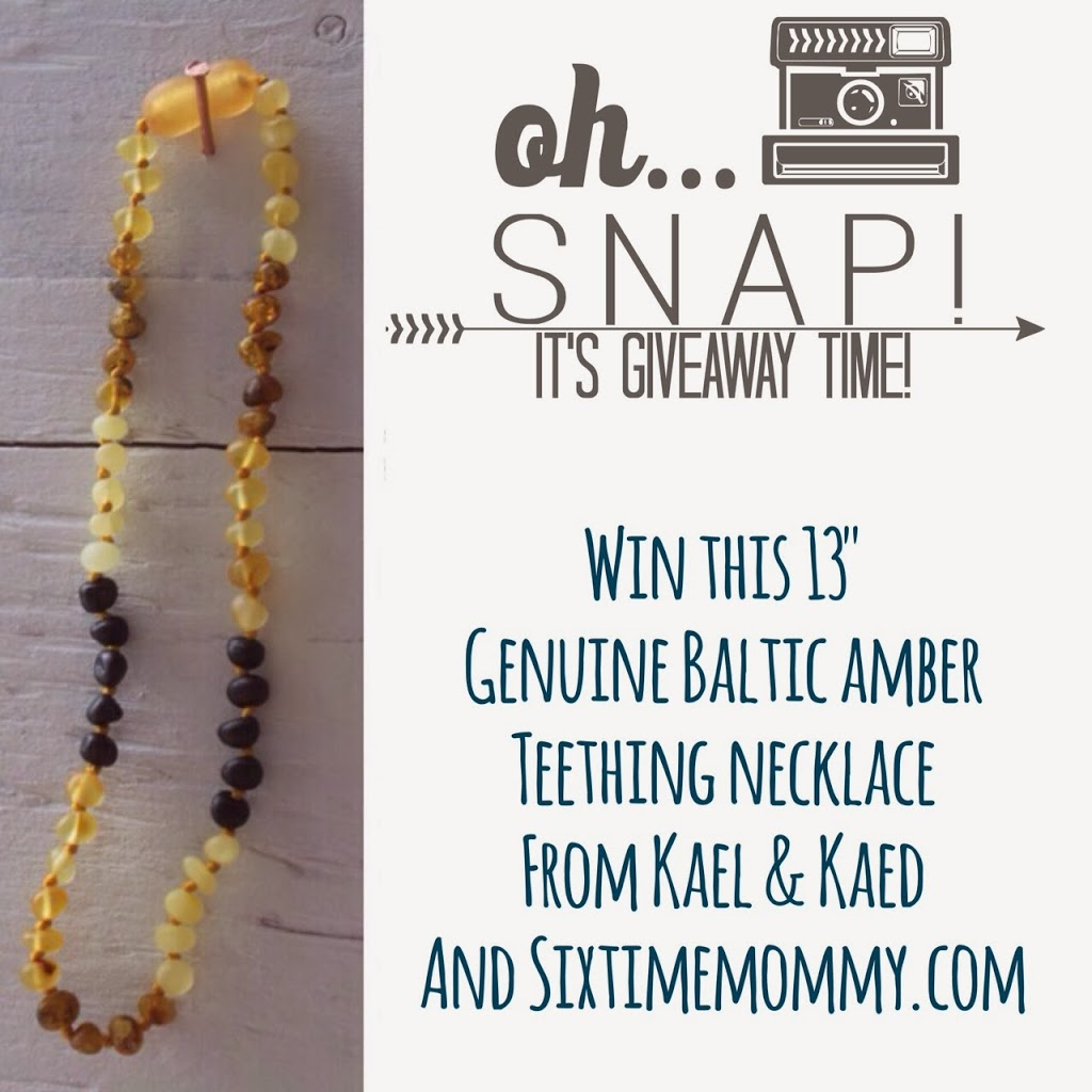 Review & Flash Giveaway: Kael&Kaed Genuine Baltic Amber
