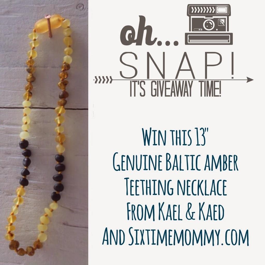 Review & Flash Giveaway: Kael&Kaed Genuine Baltic Amber