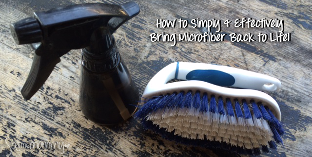 How to Simply & Effectively Bring Microfiber Back to Life!