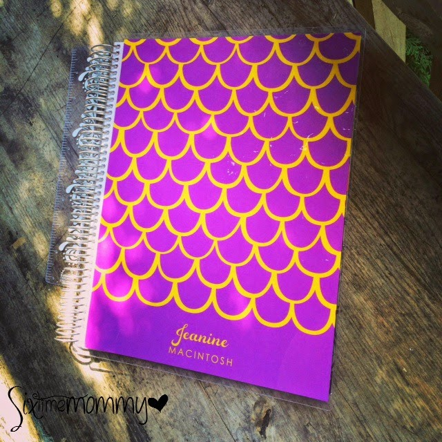 Erin Condren Spiral Notebook Review & Giveaway