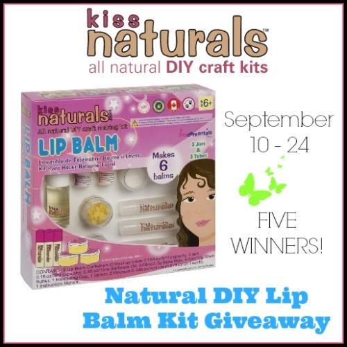 KISS Naturals DIY Lip Balm Giveaway