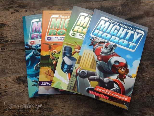 Ricky Ricotta's MIGHTY ROBOT SERIES Review & Prize Pack Giveaway