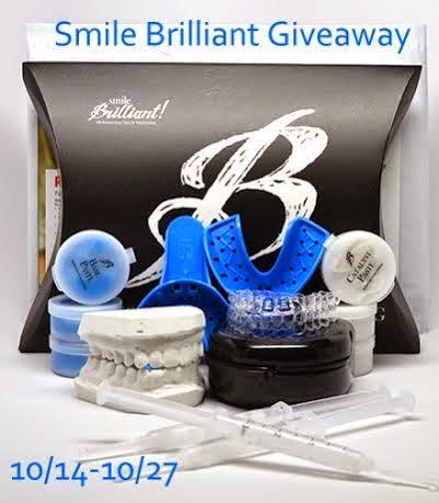 Smile Brilliant Teeth Whitening Kit Giveaway