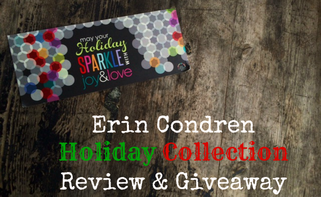 Erin Condren Holiday Collection Review & Giveaway!
