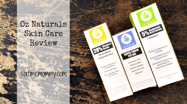 OZ Naturals Skin Care Review