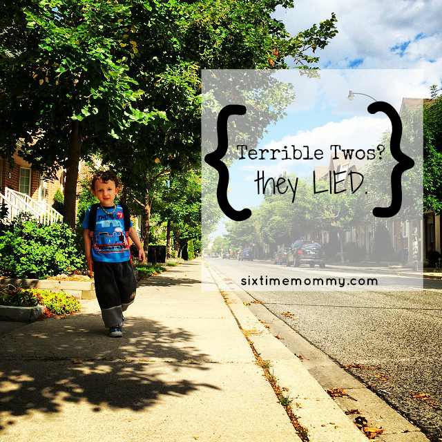 Terrible Twos? They Lied.