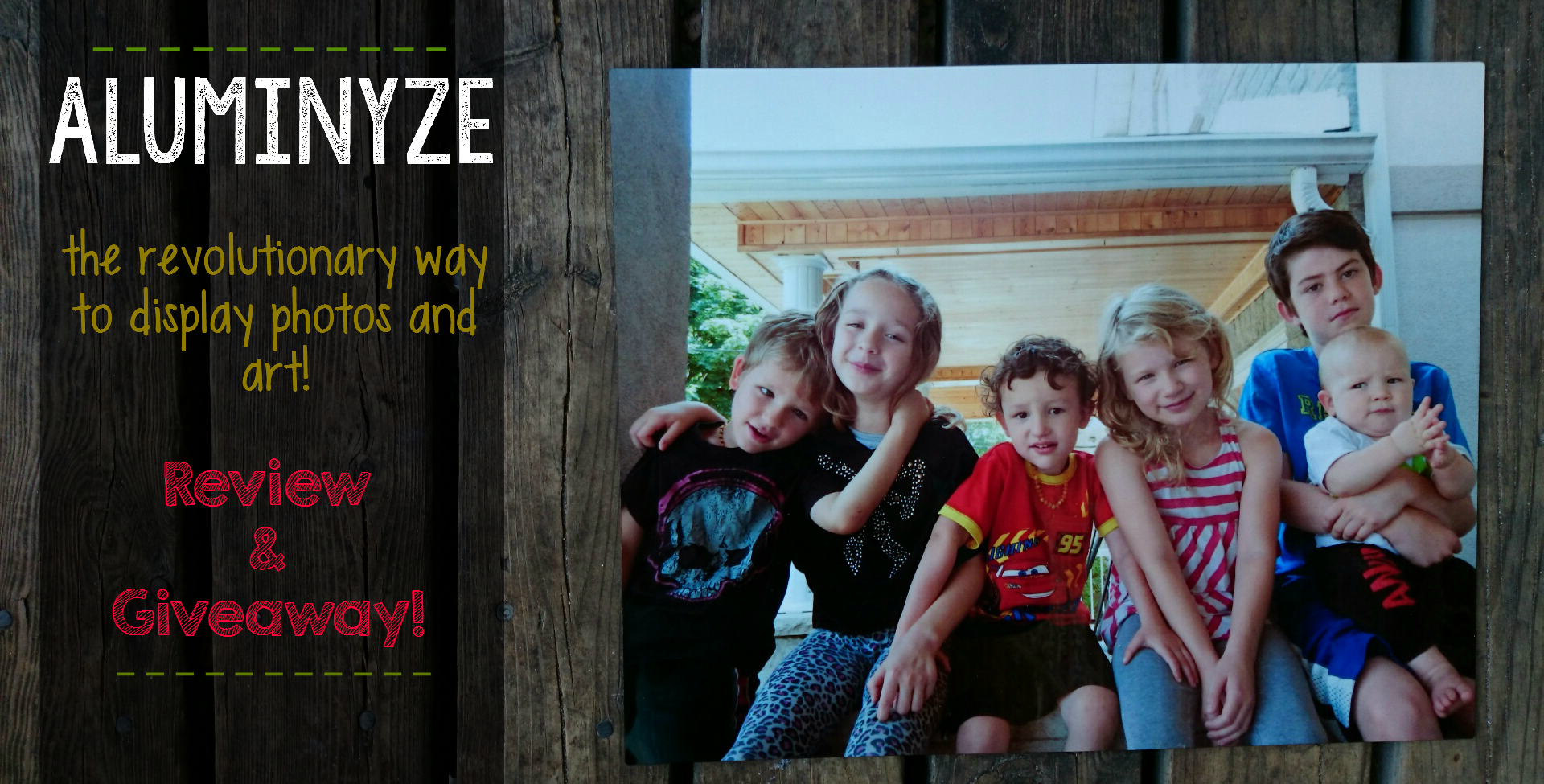 Aluminyze Print Review & Giveaway