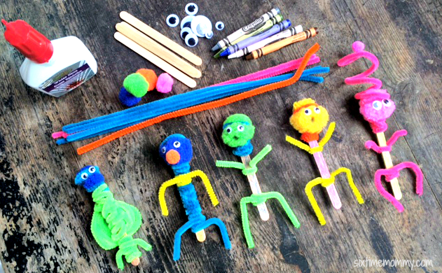 Easy DIY Puppets For Kids