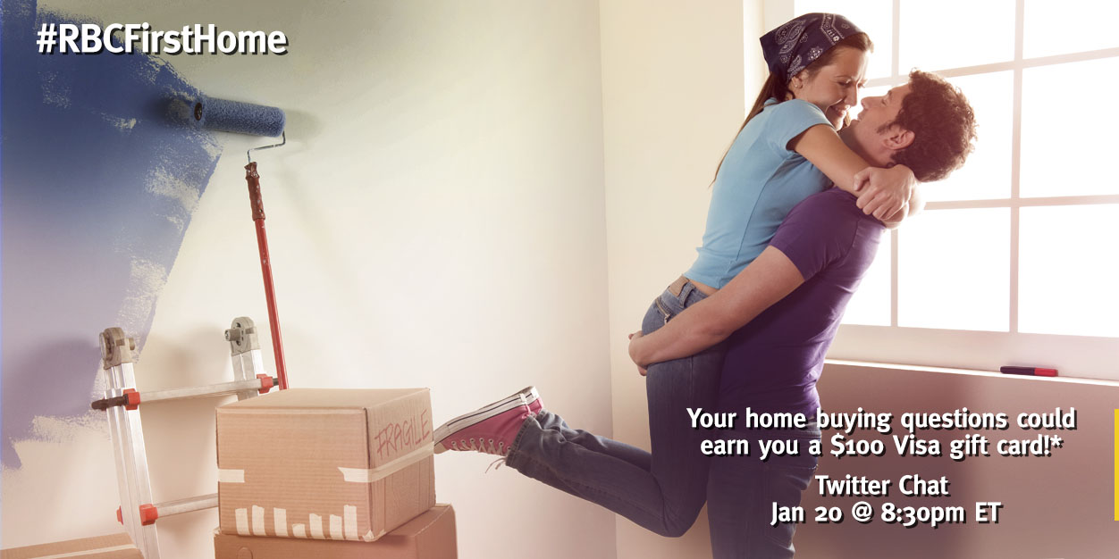 Join the #RBCFirstHome Twitter Chat for Fun & Win!