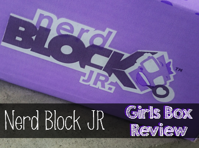 Nerd Block Jr - Girls Box Review: Have a girl? Take a look at this fun and creative monthly subscription box!