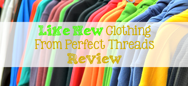 """""""Like New"""" Clothing from Perfect Threads REVIEW: Do you like to shop thrifty? Like getting amazing deals on like new NAME BRAND clothing? Perfect Threads has something for everyone! - sixtimemommy.com"""