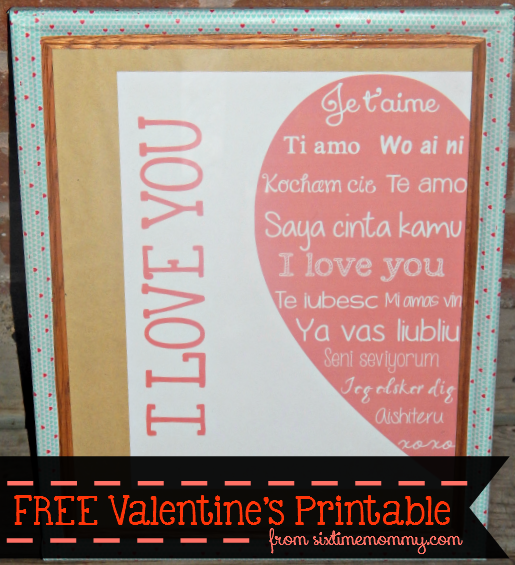 Let's Decorate Valentine's Is Coming! {Free Printable}