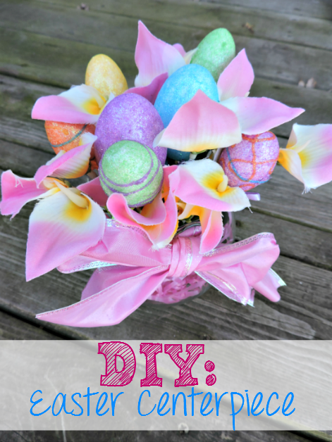 DIY: Easter Centerpiece - Make your own gorgeous table decoration in minutes! - sixtimemommy.com