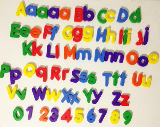 Magnetic Alphabet Letters Numbers