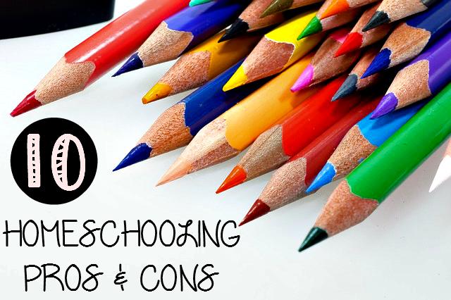 10 Homeschooling Pros & Cons