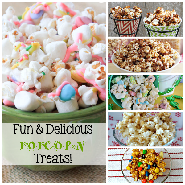 Fun & Delicious Popcorn Treats + Family Movie Night Suggestions!