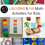 10 Educational & Fun Math Activities for Kids! - sixtimemommy.com