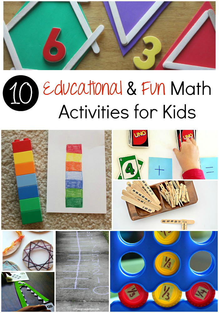 Educational & Fun Math Activities for Kids