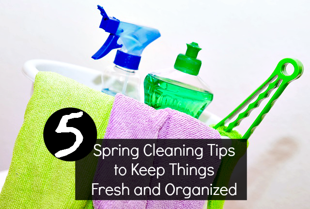 Spring Cleaning Tips to Keep Things Fresh and Organized: Quick and Easy to get the jobs done! - sixtimemommy.com