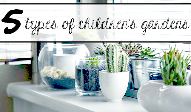 5 Types of Children's Gardens