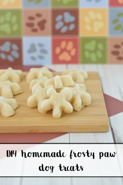 DIY Homemade Frosty Star Dog Treats