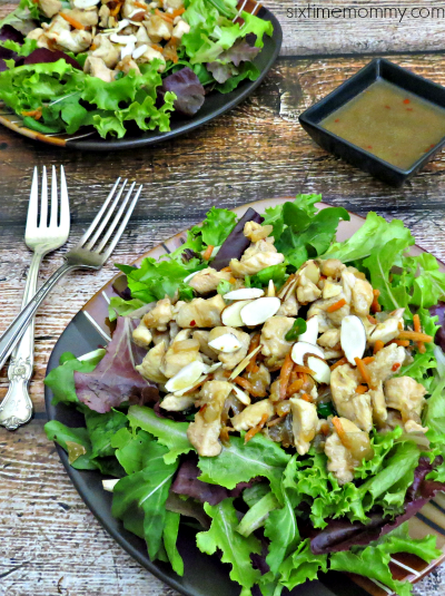 Deconstructed Asian Chicken Lettuce Wraps