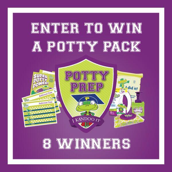 Potty Training Party Time! | Kandoo Potty Training Kit Giveaway