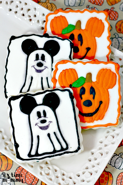 Homemade Spooktacular Mickey Mouse Halloween Cookies - Six Time ...