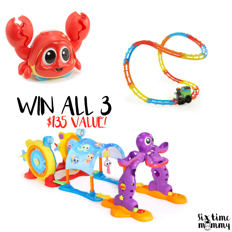 Little Tikes™ Lil' Ocean Explorers 3 in 1 Adventure Course + Little Tikes™ Giveaway ($135.00 Value)!