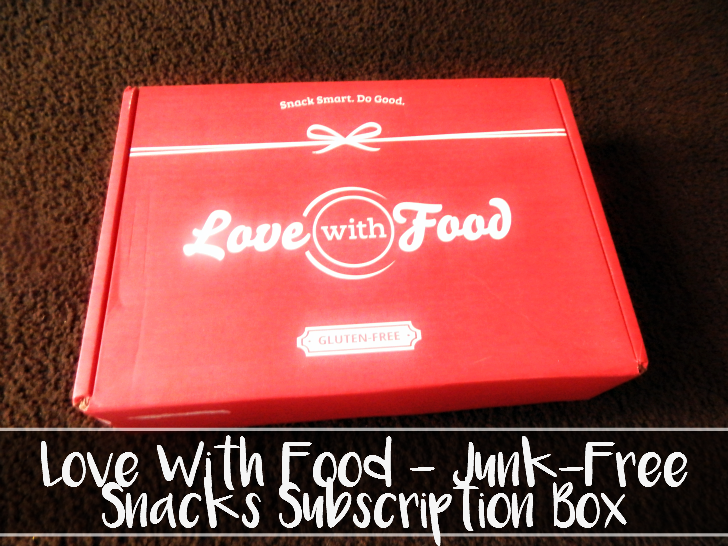 Love With Food -- Junk-Free Snacks Subscription Box - sixtimemommy.com