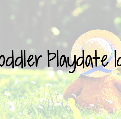 5 Toddler Playdate Ideas