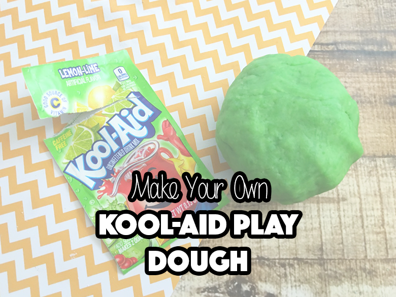 Make Your Own Kool-Aid Play Dough
