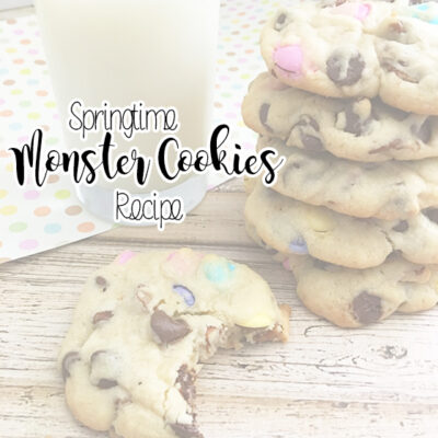 Springtime Monster Cookies Recipe