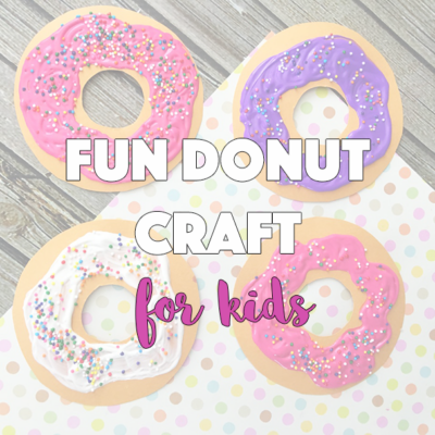 Fun Donut Craft for Kids