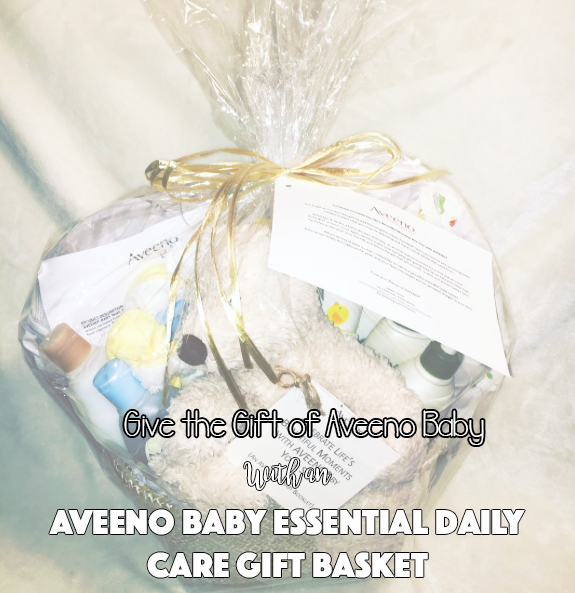 Give the Gift of Aveeno Baby With an Aveeno Baby Essential Daily Care Gift Basket! - Six Time Mommy and Counting…