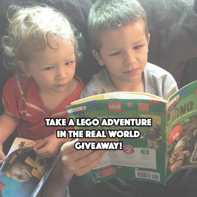 TAKE A LEGO ADVENTURE IN THE REAL WORLD GIVEAWAY! #LEGOnonfiction