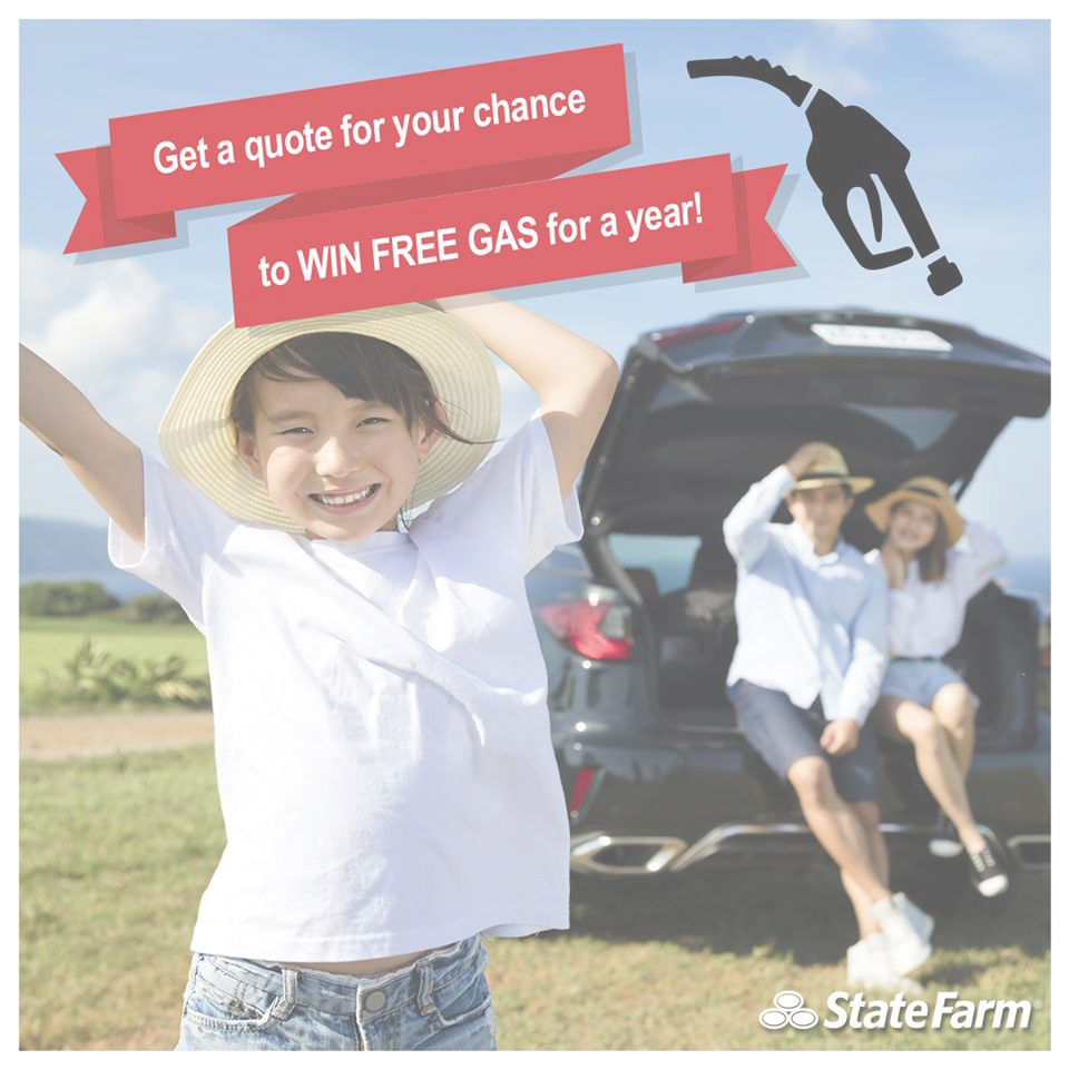 State Farm Quote: Get A Quote For Your Chance To Win Free Gas For A Year