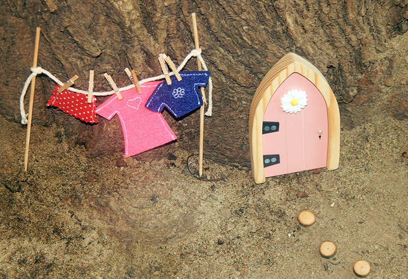 A Fairy is Moving in Thanks to the Irish Fairy Door Company!