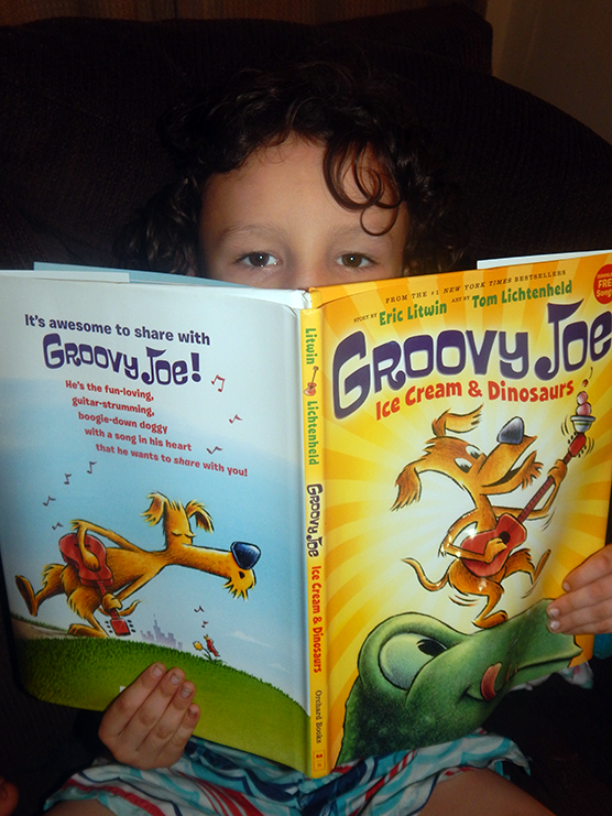 GROOVY JOE: ICE CREAM AND DINOSAURS GIVEAWAY