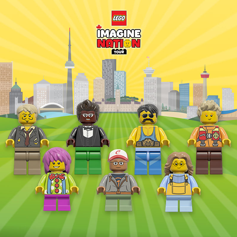 LEGO® Imagine Nation Tour Giveaway — Toronto