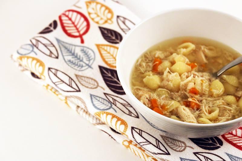 Easy Crock Pot Chicken Soup