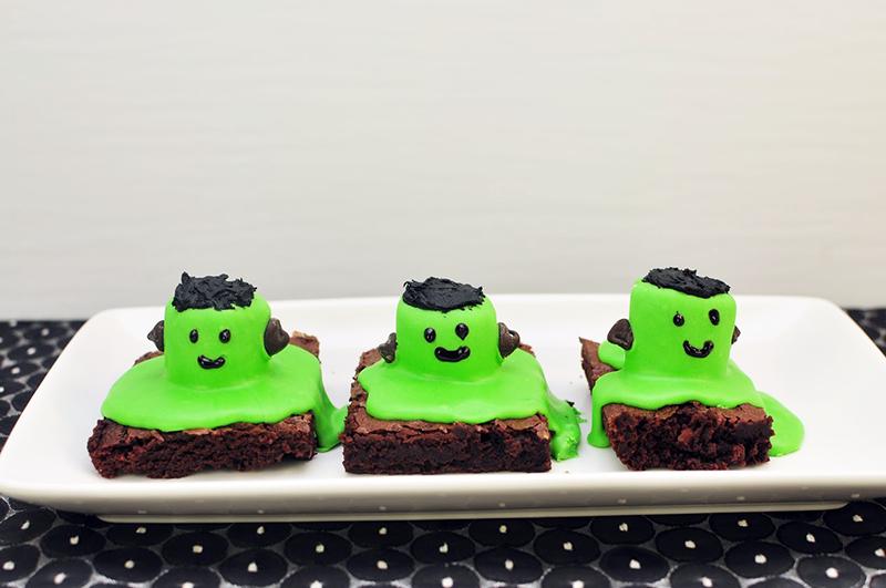 Frankenstein Brownies Recipe