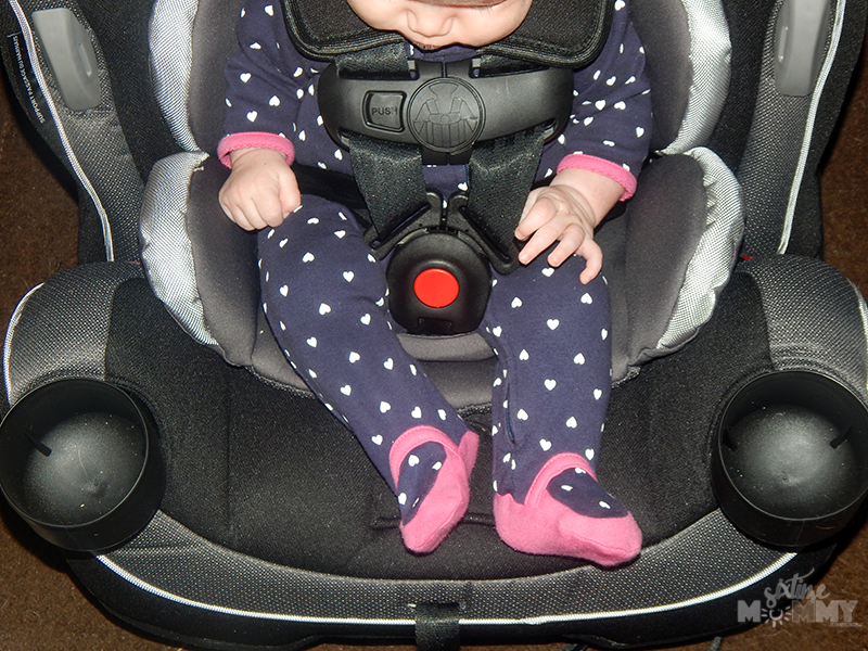 Buckled Up For Safety in The Safety 1st Grow and Go 3-in-1 Car Seat ...