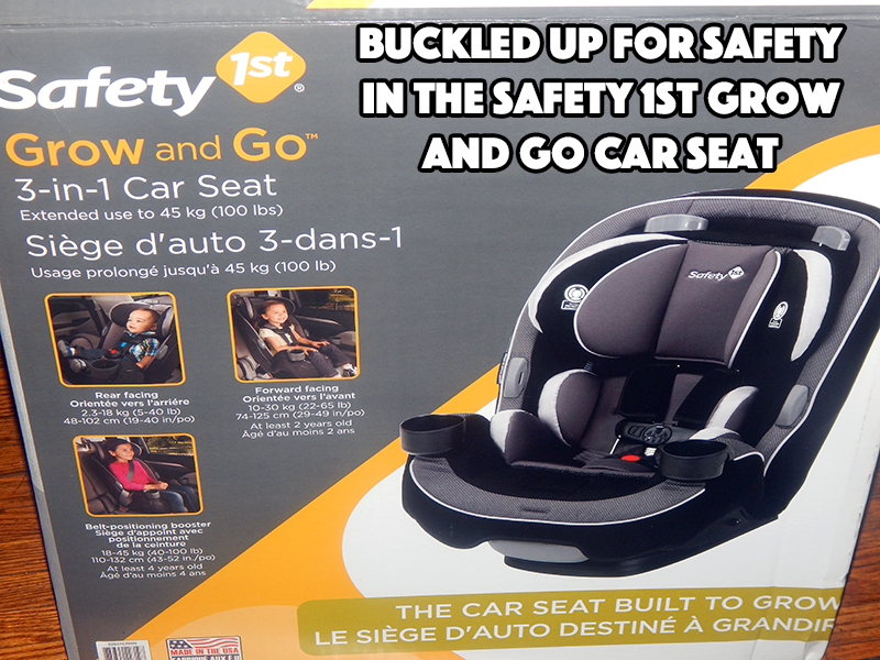 buckled up for safety in the safety 1st grow and go 3 in 1 car seat the car seat built to grow. Black Bedroom Furniture Sets. Home Design Ideas