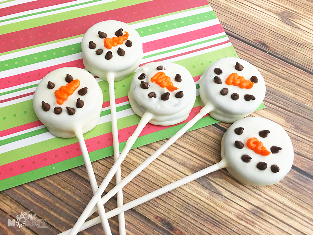 Snowman Oreo Pops Six Time Mommy And Counting