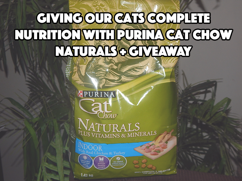 Purina Cat Chow Naturals Dry Cat Food Ingredients